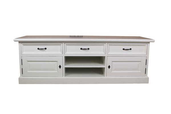 White Wash tv dressoir met lades HK89R